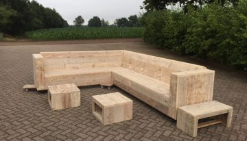 Scaffolding Wooden Pallets Couch