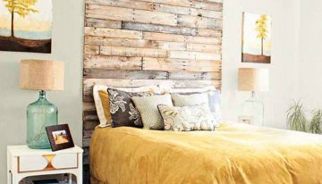 Cozy Pallet Headboard Ideas