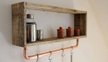 Little Pallet Wooden Shelf