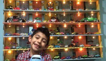 Pallet Wood Kids Toys Shelf
