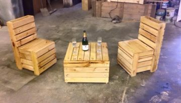 Pallet Recycled Furniture Idea