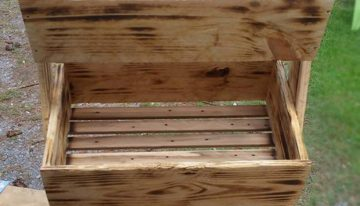 Pallet Wooden Tater Box
