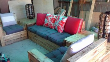 DIY Pallet Furniture Plan