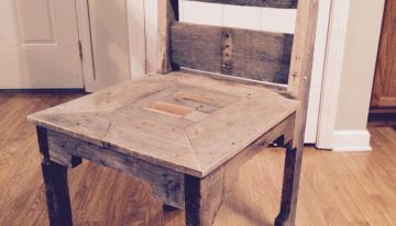 Pallet Dining Room Chair