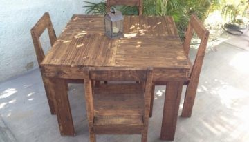 Rustic Pallet Wooden Furniture