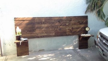 Pallets Upcycled Header Wall Decor