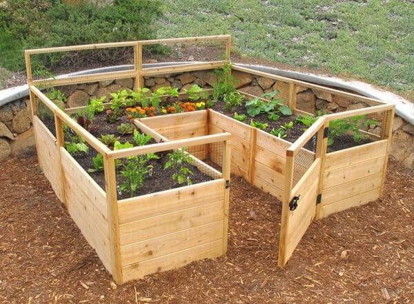 Pallet Raised Garden Beds Ideas, How To Make Raised Garden Beds From Pallets