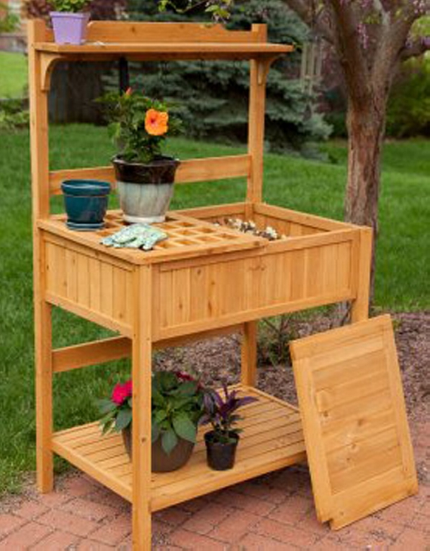 Wood Pallet Potting Benches | Pallet Ideas: Recycled ...