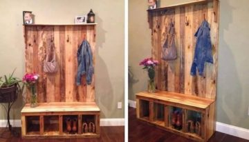 Ideas for Recycled Pallet Cabinets