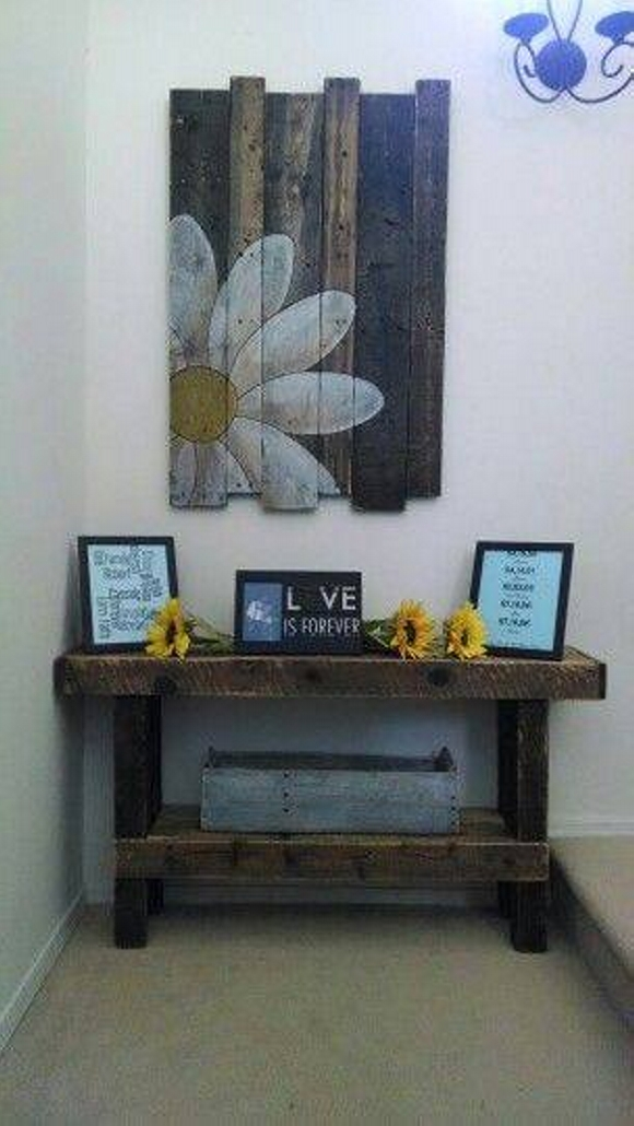 Wall Decor Ideas with Pallets | Pallet Ideas on Pallets Design Ideas  id=87799