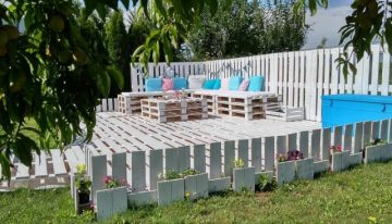 Pallet Garden Decorations