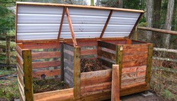 Pallet Compost Bin Ideas