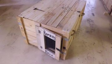 Pallet Chest Cum Dog House