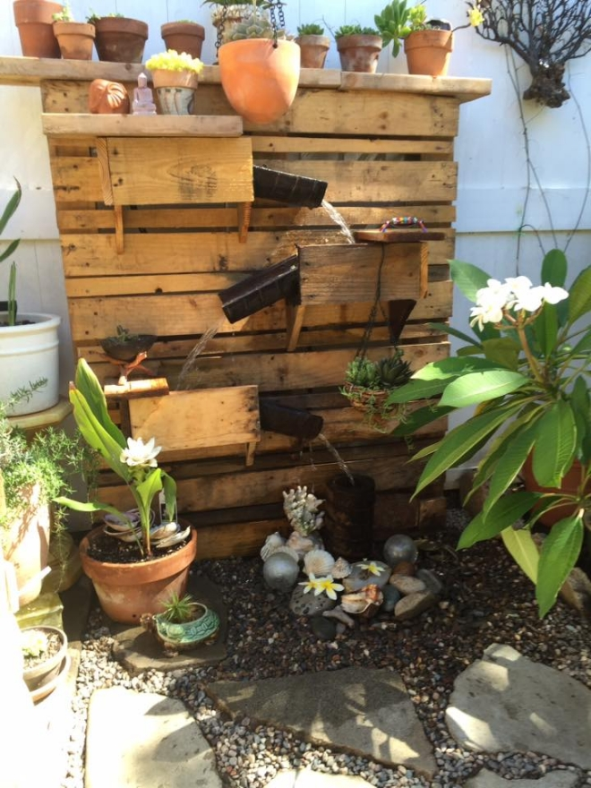 Garden Ideas with Pallets | Pallet Ideas