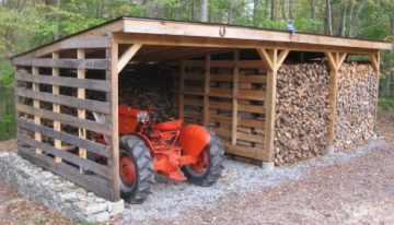 Recycled Pallet Barn Ideas