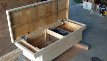 Pallet Made Tool Box