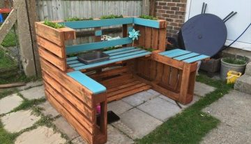 Rescued Pallet Kids Furniture