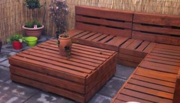 20 Ideas for Pallet Patio Furniture