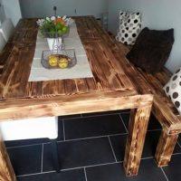 Pallet Dinning Table Idea