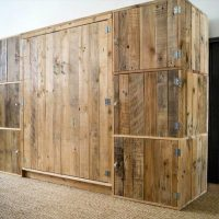 Storage Ideas with Wood Pallets