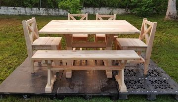 Garden Furniture Out of Wood Pallets