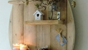 Wooden Pallet Shelving Ideas