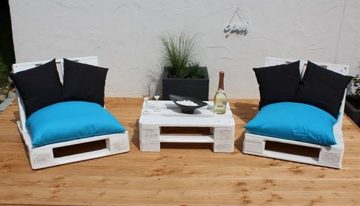 Pallet Sitting With Rustic Charm